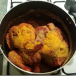 Cooking indian tandoori chicken in your oven