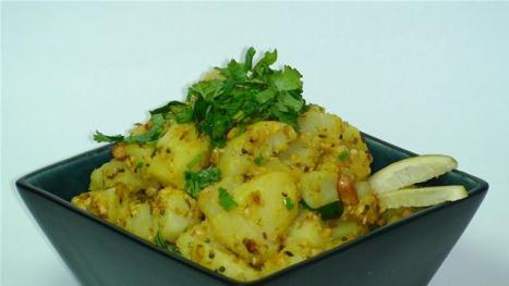 Aloo sukha Curry Kitchen Cooking classes perth