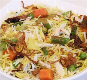 Hyderabadi_Biryani vegetaranian mughals recipe
